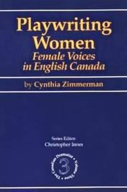 Playwriting Women by Cynthia Zimmerman image