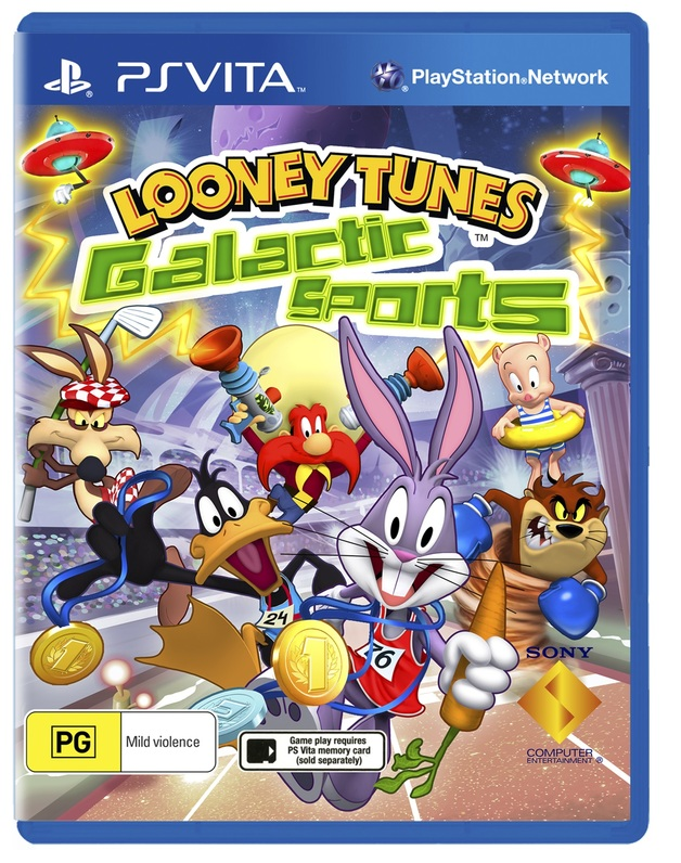 Looney Tunes Galactic Sports for Vita