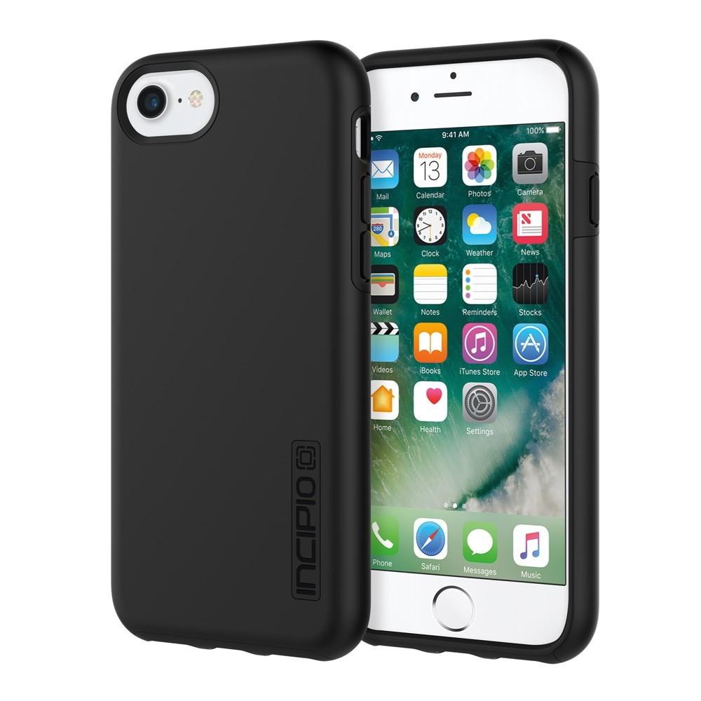 Incipio DualPro Case for iPhone 7 & 8 - Black/Black image