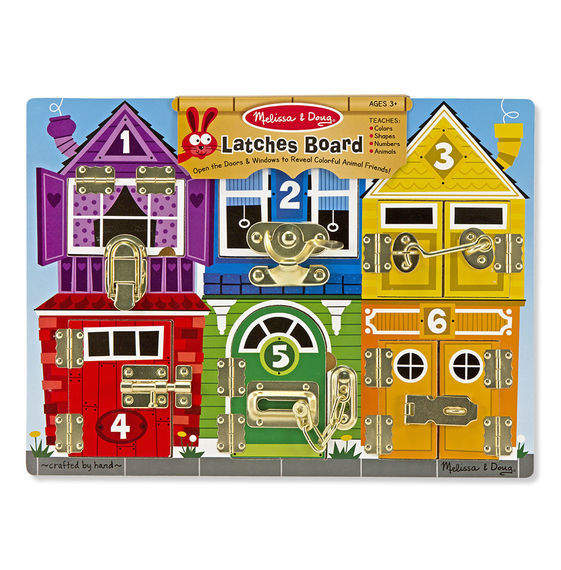 Melissa & Doug: Wooden Latches Board
