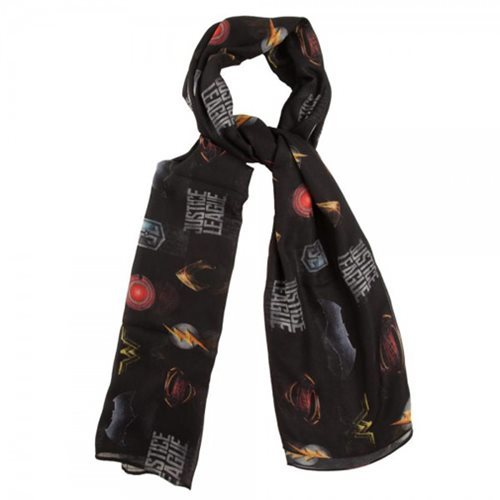 DC Comics: Justice League - All Over Print Poly Scarf image