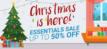Christmas Essentials Sale - Up to 50% OFF!