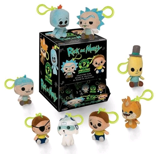 Rick and Morty - Mystery Minis Plush Key Chain (Blind Box)