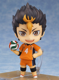 Haikyu!!: Nendoroid Yu Nishinoya - Articulated Figure Set