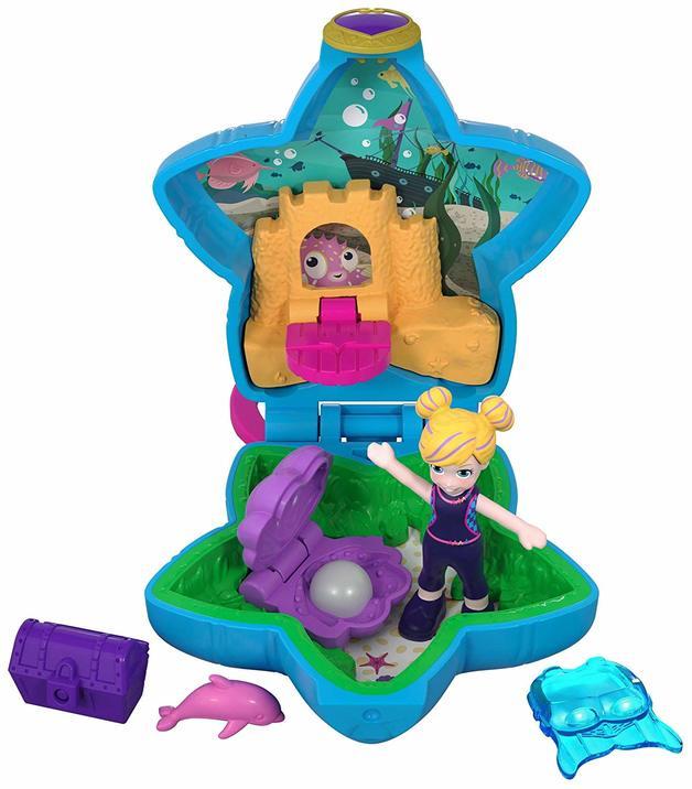 Polly Pocket: Tiny Pocket World - Aqua Awesome! Aquarium