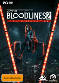 Vampire: The Masquerade – Bloodlines 2 First Blood Edition for PC