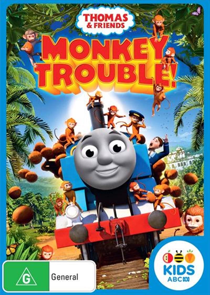 Thomas & Friends: Monkey Trouble on DVD image