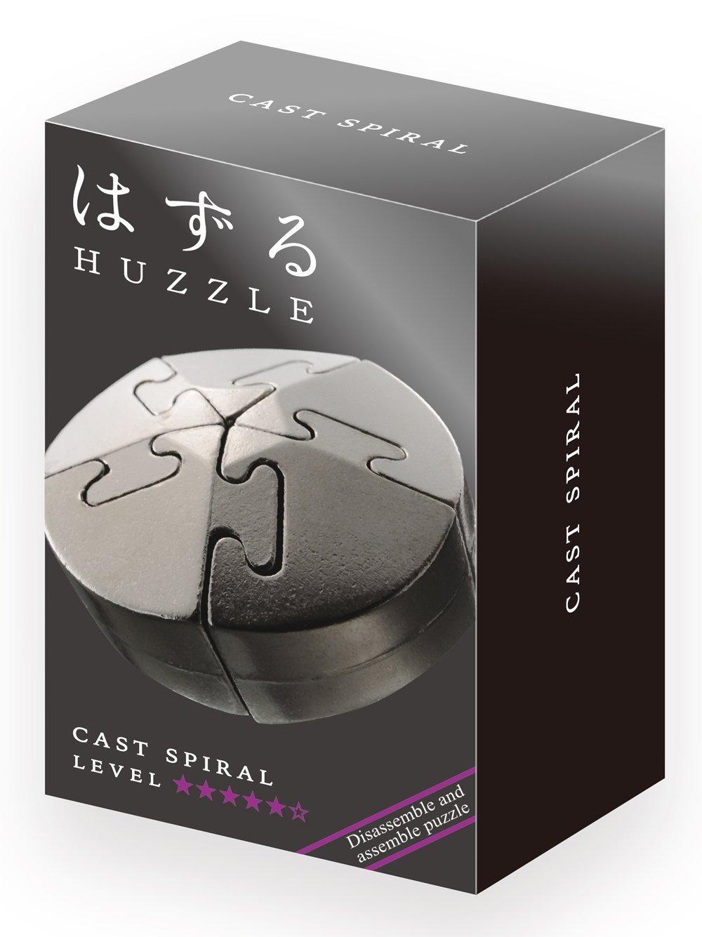 Huzzle: Cast Spiral Puzzle image