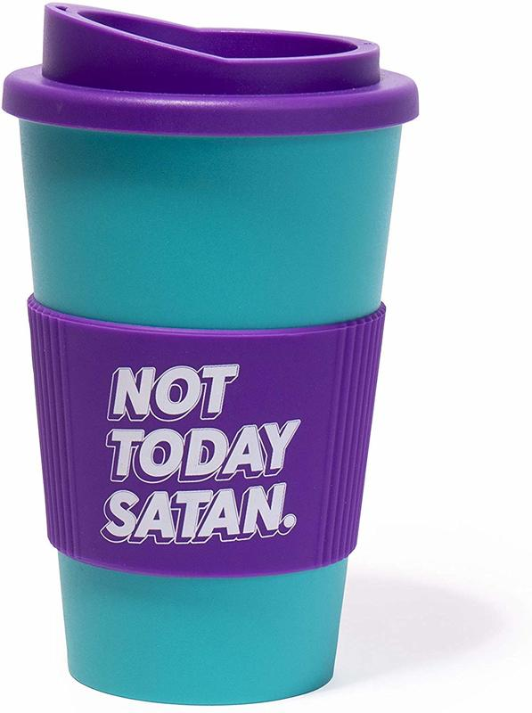 Firebox: Novelty Travel Mug - Not Today Satan