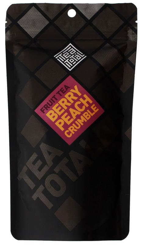 Tea Total - Berry Peach Crumble Tea (100g Bag)