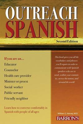 Outreach Spanish by William C Harvey, M.S. image