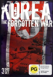 Korea - The Forgotten War (3 Disc Set) on DVD image