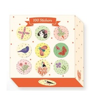 Djeco: Stickers - Chichi (100 Pack)