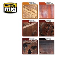 Ammo of Mig Jimenez: Rust Effect Colour Set