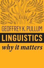 Linguistics by Geoffrey K Pullum