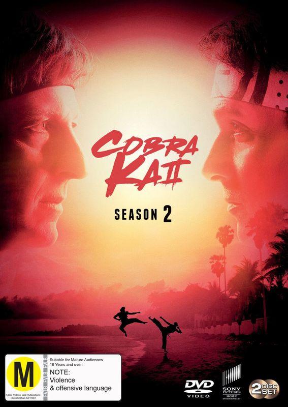 Cobra Kai - Season 2 on DVD