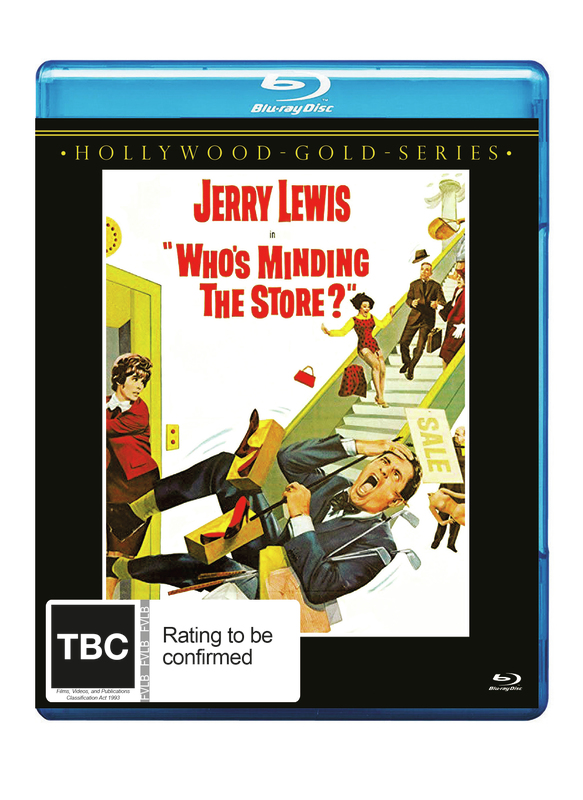 Who's Minding The Store? on Blu-ray