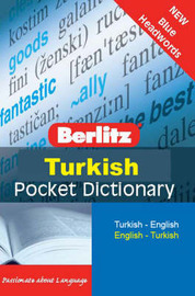 Berlitz Pocket Dictionary Turkish image