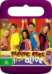 Hi-5 - Playing Cool Plus Five Alive on DVD