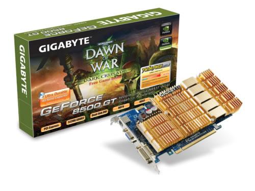 GIGABYTE NX85T512 8500GT 512MB DDR3 PCIE