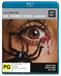 Dr Phibes Rises Again on Blu-ray