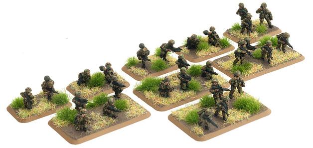 Flames of War: American Mech Platoon