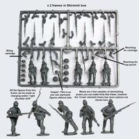 American Civil War Union Infantry in sack coats skirmishing (1861-1865) image
