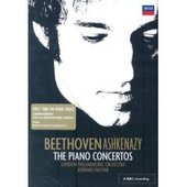 Beethoven - The Piano Concertos - Vladimir Ashkenazy (2 Disc Set) on DVD