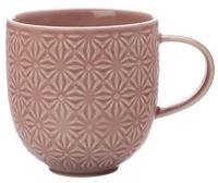 Casa Domani Pavia Mug Textured 400ml Pink