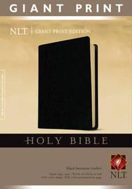 Giant Print Bible-NLT image