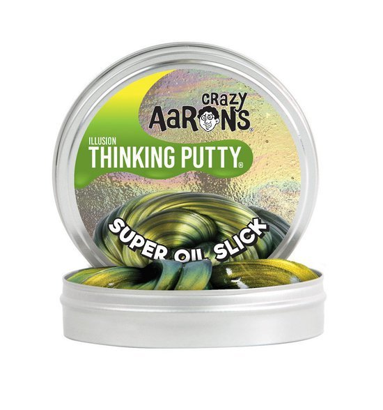 Crazy Aarons Thinking Putty: Super Oil Slick - Mini Tin image