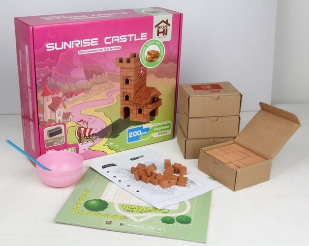Hibricker: Sunrise Castle - 200pcs