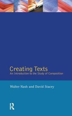 Creating Texts by Walter Nash image