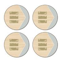Balance Coasters - Round (Set/4)