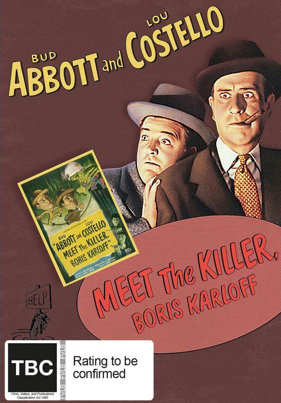 Abbott And Costello: Meet The Killer Boris Karloff on DVD