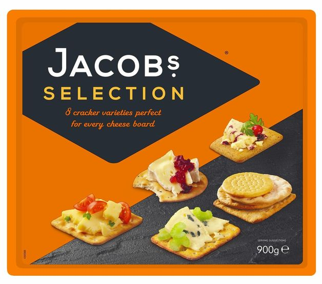 Jacob's Biscuits For Cheese (900g)