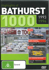 Highlights Of Bathurst 1000 - 1993 / 1994 on DVD