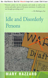 Idle and Disorderly Persons by Mary Hazzard image