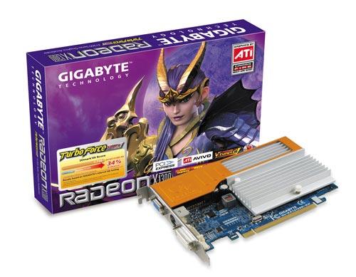 Gigabyte GV-RX13128D-RH Radeon X1300 image