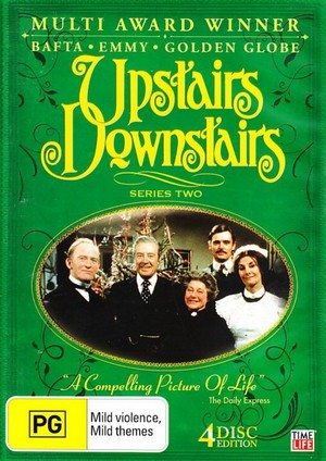 Upstairs Downstairs - Series 2 (4 Disc Set) on DVD image