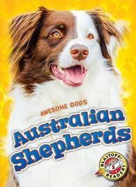 Australian Shepherds by Domini Brown