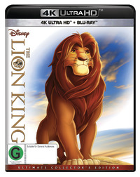 The Lion King on UHD Blu-ray