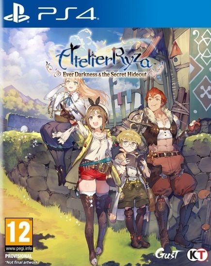 Atelier Ryza Ever Darkness & the Secret Hideout for PS4