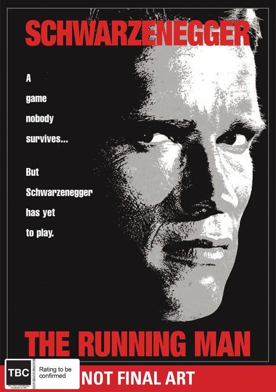 The Running Man on DVD