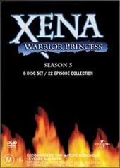 Xena - Warrior Princess: Season 5 (6 Disc Set) on DVD