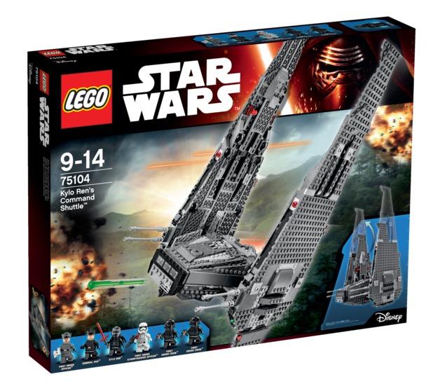LEGO Star Wars: Kylo Ren's Command Shuttle (75104)