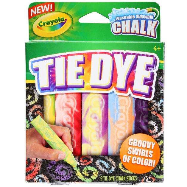 Crayola: Special Effects Sidewalk Chalk - Tie Dye