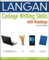 College Writing Skills with Readings by John Langan image