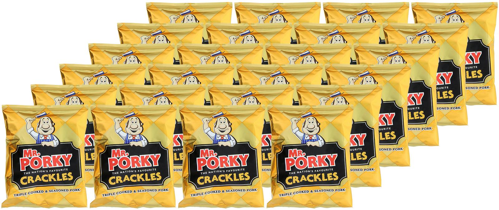 Mr. Porky Pork Crackles (24 x 45g) image