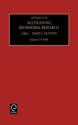 Advances in Accounting Behavioral Research image